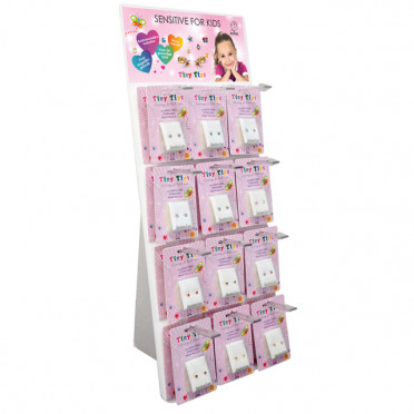1 zijdige Tiny Tips Display (24 paar)